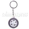 Wheel Light-up Key Rings