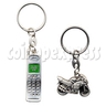 Alloy Motorcycle and Cellphone Key rings
