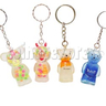 Elasticity Liquid Key Rings