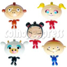 Big Head Cartoon Key Rings