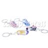 Crystal Shoe Key Rings