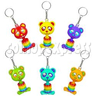 Spring Bear Key Rings