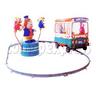 Single Cartoon Bus train