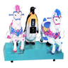 Penguin and Horses Kiddie Ride