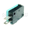 3 Terminals Microswitch with Button Actuator