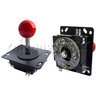 Metal Construction Joystick with ZIPPY Microswitches