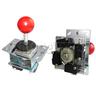 Round Head Heavy-duty Joystick with ZIPPY Microswitches