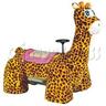 Clever Giraffe Walking Animal