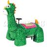 Green Dinosaur Walking Animal