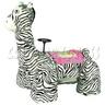 Orgulous Zebra Walking Animal