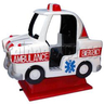 Bright Ambulance Kiddie Ride
