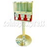 ABS Plastic Triple Head Candy Vending Machine With Steel Stand