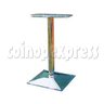 26 Inch Chromed Stand with Square Base