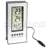 LCD Digital Weather Station Alarm Clock with Thermometer