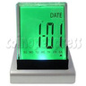 7 Color Changing LED Multifunction Clock