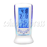 LCD Alarm Clock with Calendar and LED Backlight