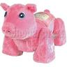Pink Fat Pig Walking Animal