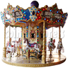 Carrousel Horse 12 players