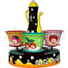 QQ Pudding Cup Carousel