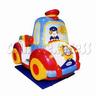 Screen Police Car Kiddie Ride