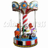 Cute Horse Carousel Kiddie Ride