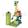 Cute Giraffe Kiddie Ride