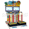 Happy Balance Ball stepping machine (two players)