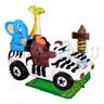 Safari Jeep with Post Kiddie Ride