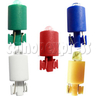 LED lights for push button multi color