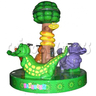 Triple Crocodile Carousel