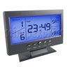 LCD Calendar Clock With Sound Activated Backlight Projection