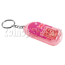 Clock Keyrings With Flashing Light