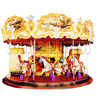 Deluxe Horse Carousel Rider (18 players)
