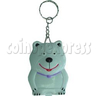 White Bear Calculator Key Chain