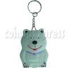 White Bear Calculator Key Chain