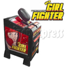 New Girl Fighter Punch Machine