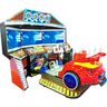 3D Triple Screen Car Racing Simulator