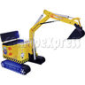 Motorized Excavator Kiddie Ride