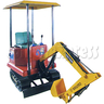 Electric Motorized Excavator Rider with Tent