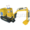 Electric Excavator Motorized Kiddie Ride for Kids