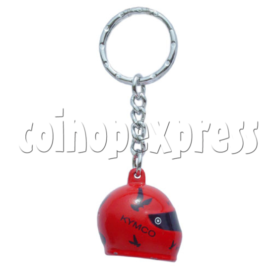 Crash Helmet Key Rings 10228