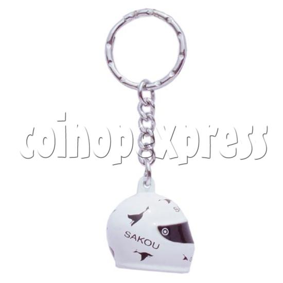 Crash Helmet Key Rings 10229