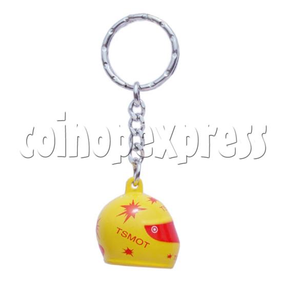 Crash Helmet Key Rings 10230