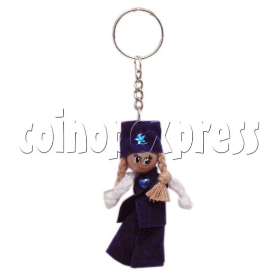 Plait Girl Keychains 10288