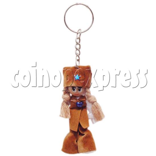 Plait Girl Keychains 10289