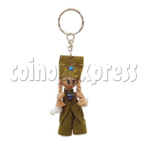 Plait Girl Keychains 10290