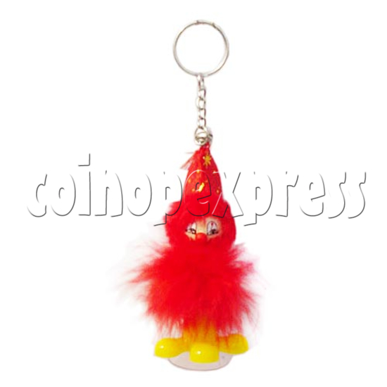 Feather Mimic Keyrings 10306