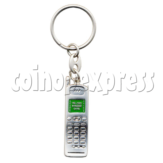 Alloy Motorcycle and Cellphone Key rings 10314