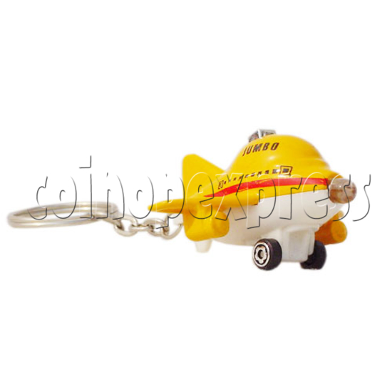 Mini Plane Light-up Key Rings 10326