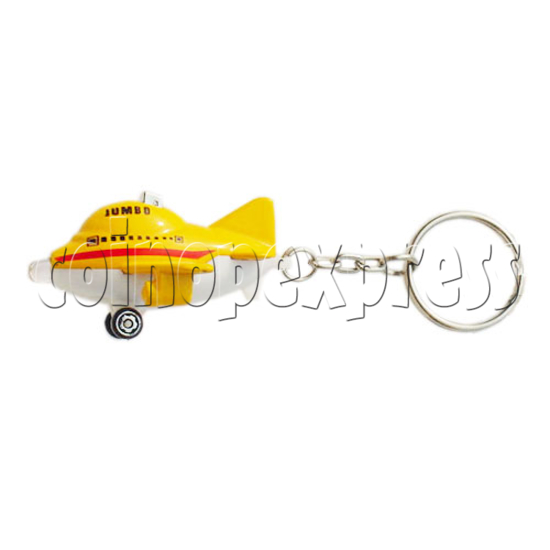 Mini Plane Light-up Key Rings 10327